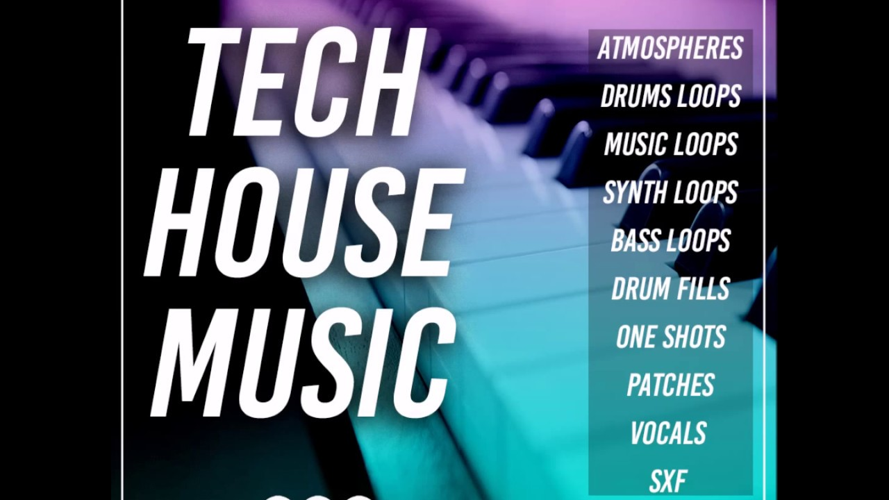 Tech House Music Samplepack With Deep Warehouse And