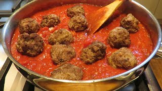 How To Make Meatballs In One Pan!