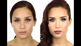 Maquillaje Glamuroso en Tonos Frios