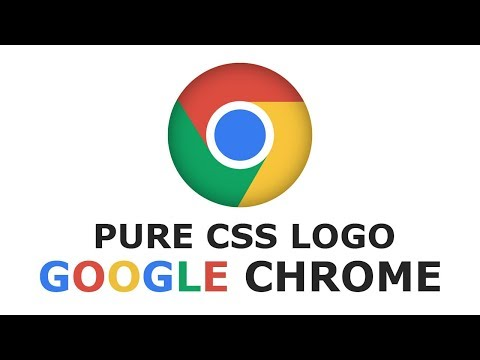 How To Create Google Chrome Logo In HTML And CSS - Pure CSS Logo - Tutorial