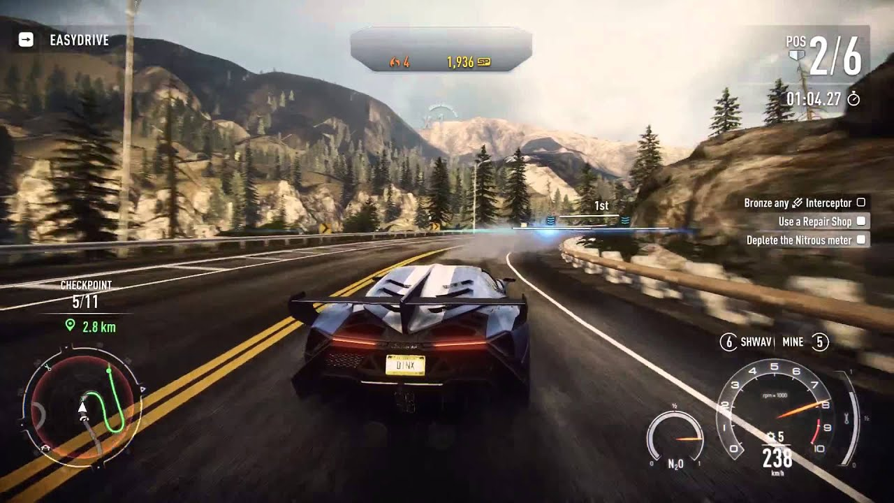 Need for Speed Rivals Knock Out [HARD] Gold - Lamborghini Veneno ... for Lamborghini Veneno Gold  165jwn