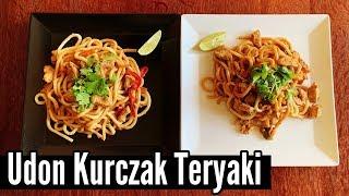 Udon z Kurczakieim Teryaki | Gotuj z Szafą