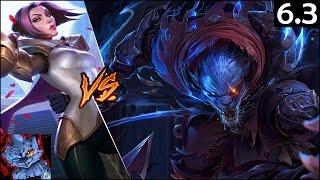 [S6 Ranked] Rengar Guide - Rengar vs Fiora Top Lane - League of Legends Gameplay