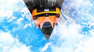 SPACE TO EARTH RAMP! (GTA 5 Race)