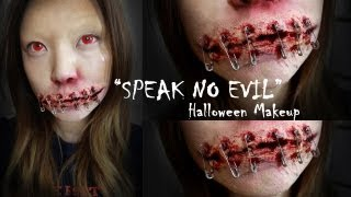 "Halloween Series: ""Speak no evil"" tutorial"