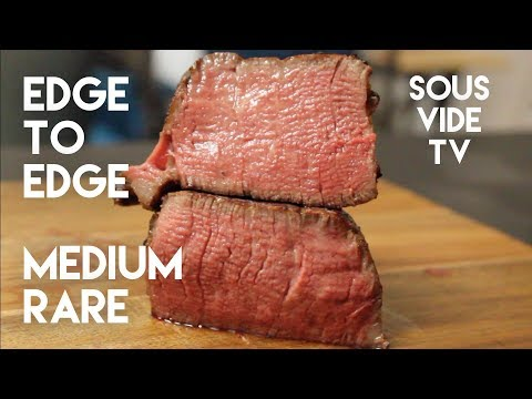 Sous Vide Filet Mignon Tenderloin Steak with Blowtorch Sear Recipe