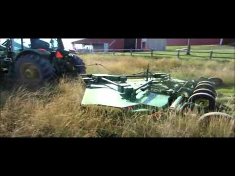 2004 John Deere HX15 15' batwing mower Demo