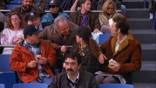 Seinfeld - Orioles Hat & Kramer hit by baseball