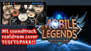 Mobile Legend Remix Soundtrack (Real Drum Cover) *Use Headphones for better audio quality 🥁🤘*