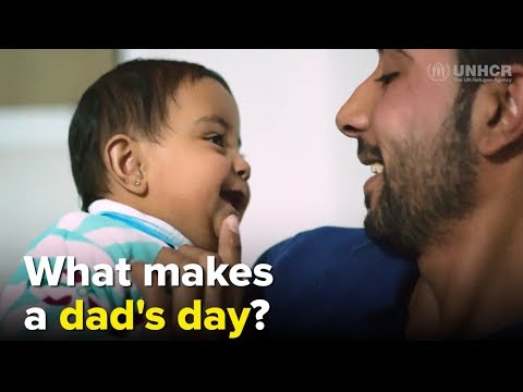 What makes a dad's day?