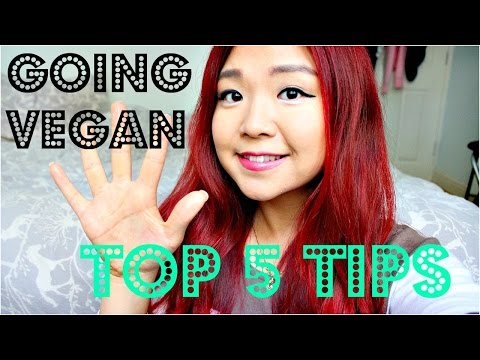 TOP 5 TIPS ON GOING VEGAN | Cheap Lazy Vegan