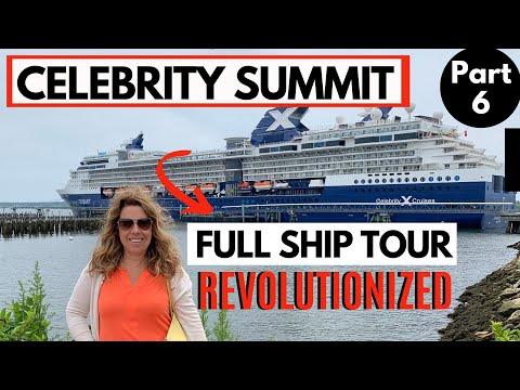 CELEBRITY SUMMIT CRUISE SHIP TOUR - REVOLUTIONIZED