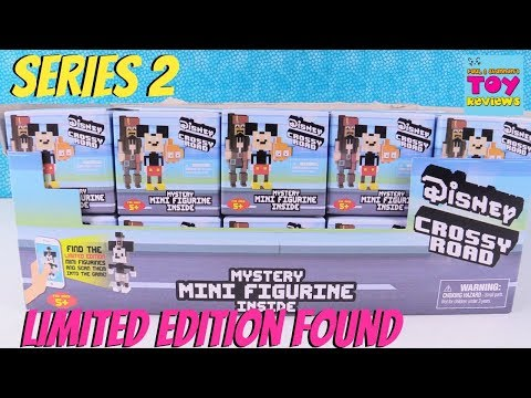 Disney Series 2 Crossy Road Mini Figures Limited Edition Blind Box Figures Toy Review | PSToyReviews