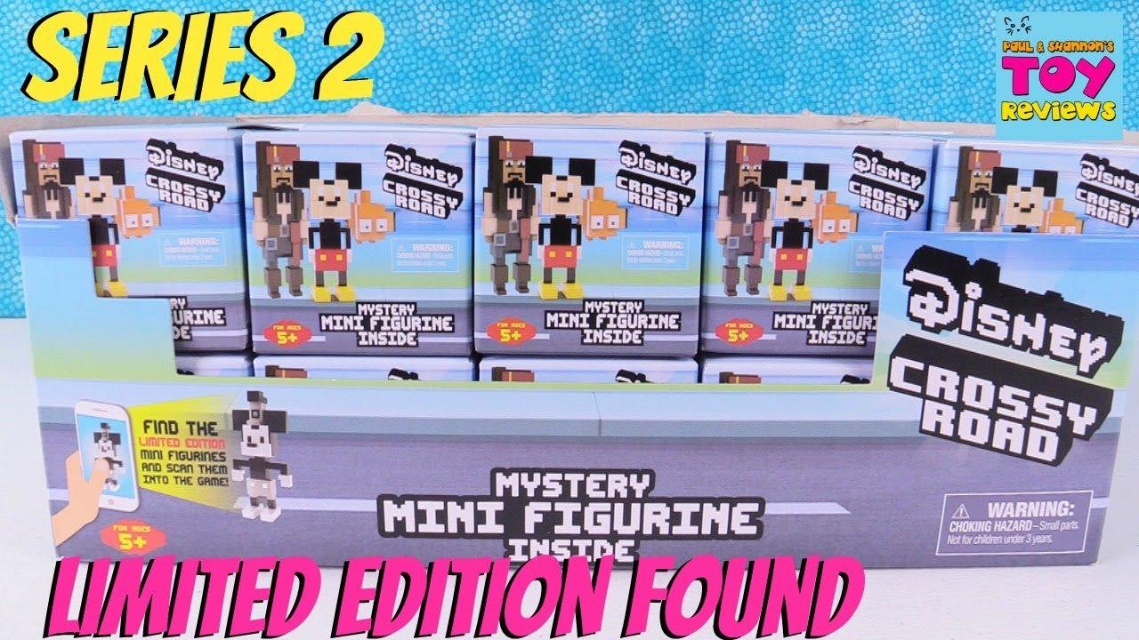 Disney Series 2 Crossy Road Mini Figures Limited Edition Blind Box