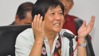 Sen. Bongbong Marcos - Interview after public consultation in Jolo, Sulu 21-May-2013