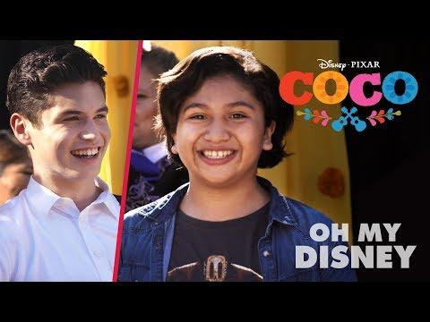 "Anthony Gonzalez & Sean Oliu Cover Coco's ""Un Poco Loco"" | Oh My Disney"
