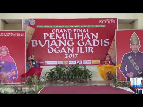 Finalis Bujang Gadis Ogan Ilir 2017, koreografer by kipas emas