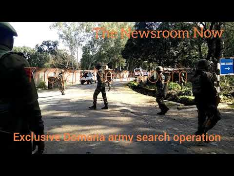 Domana jammu army search operation exclusive