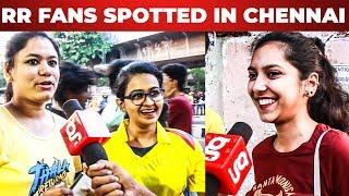 Konjam Kastamana Match thaan CSK fans in Chepauk | CSK | RR