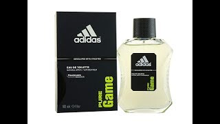Adidas Pure Game Fragrance Review 2010