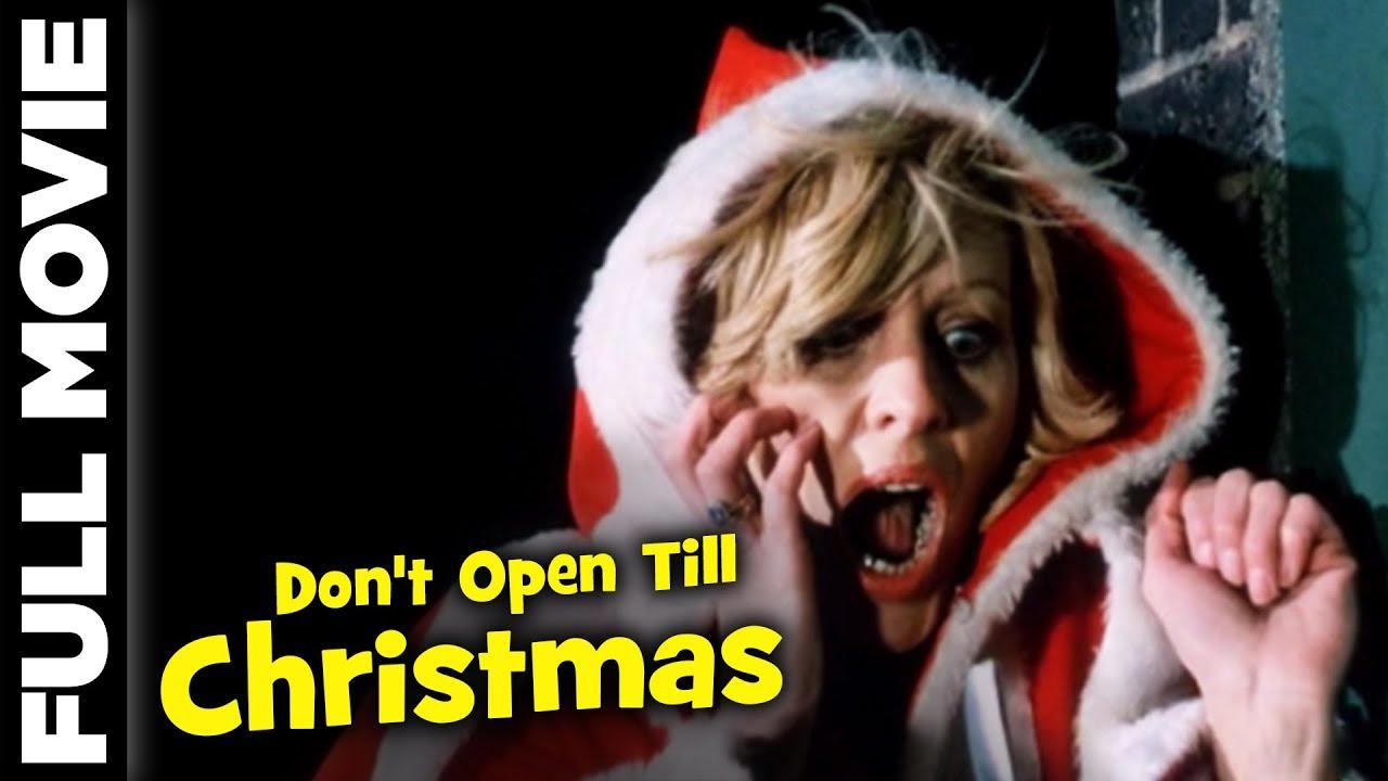 Don't Open Till Christmas (1984) | British Horror Movie | Edmund Purdom, Alan Lake