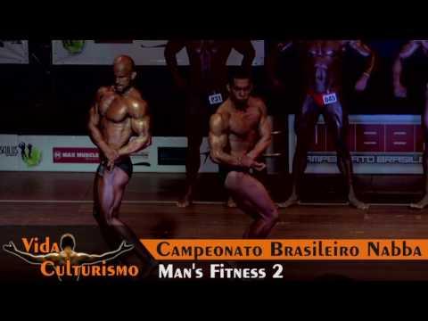 Campeonato Brasileiro NABBA - Categoria: Mans Fitness 2
