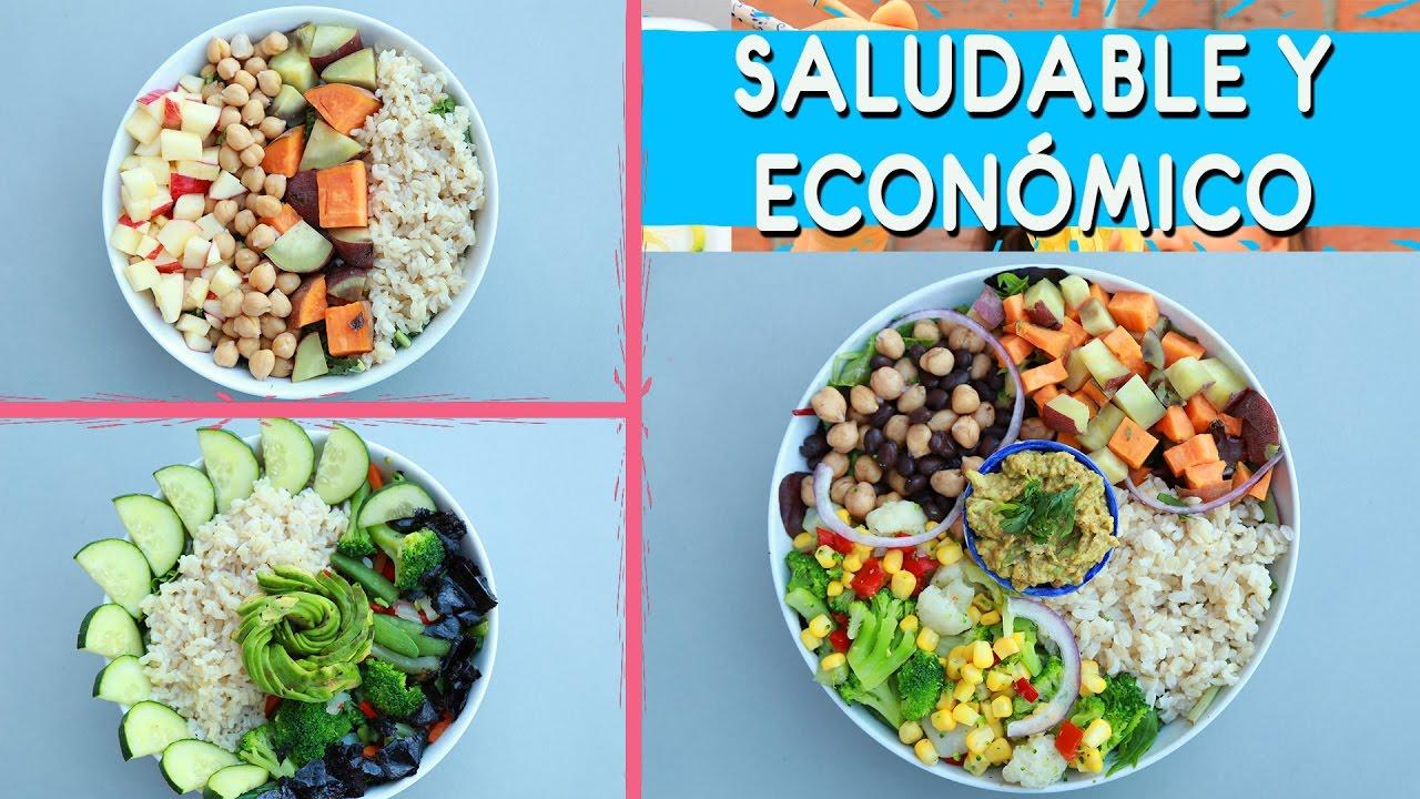 3 almuerzos cenas econ micos saludables y veganos menos for Cenas faciles y economicas
