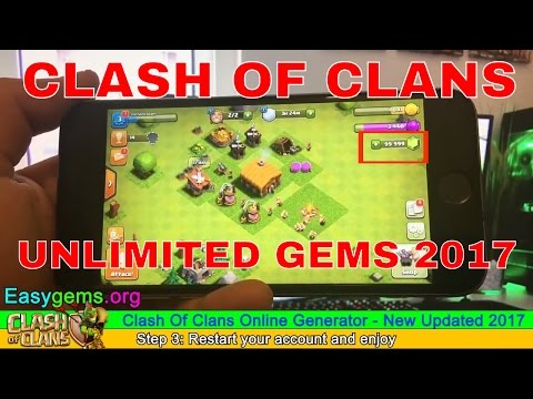 Clash Of Clans Hack Gems 2017  How To Hack Clash Of Clans Gems   Clash Of Clans Cheats