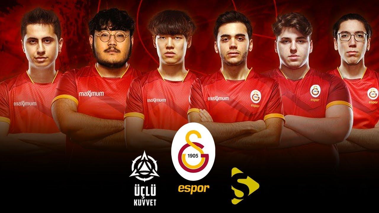 Galatasaray Espor, Transferlerle Birlikte Şampiyonluk Adayı I Üçlü Kuvvet #5