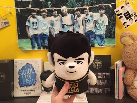 Unboxing BTS Taehyung ( V ) HipHop Monster New Plushie (kpoptown)
