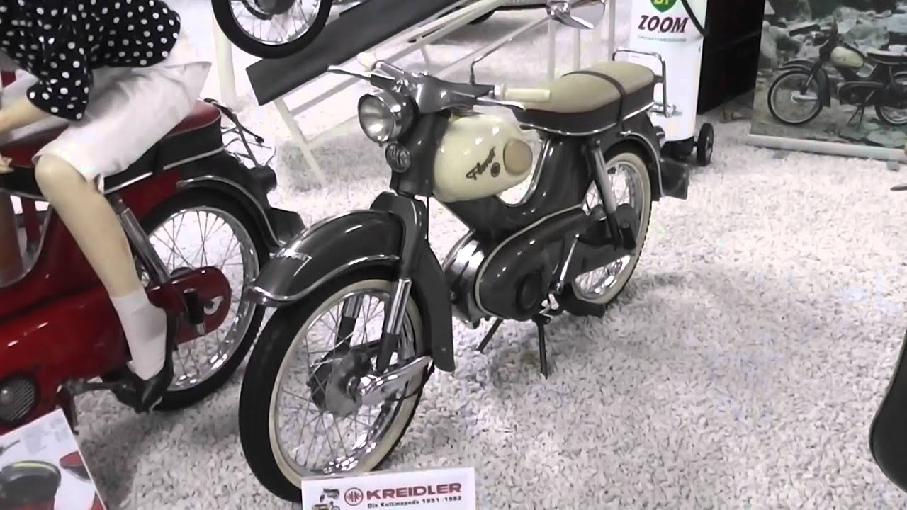 kreidler florett motorroller im technikmuseum sinsheim youtube. Black Bedroom Furniture Sets. Home Design Ideas