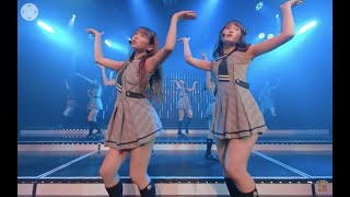 VRでNMB48を体感!劇場公演を最前列センター席からVRで撮ってみた (渋谷チームM 誰かのために公演「月見草」) / NMB48[公式]