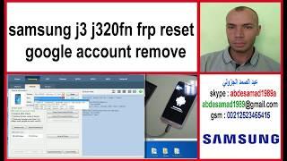 samsung j3 j320fn frp reset google account remove BST box