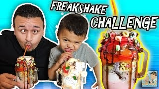 KID DRINKS POOP SHAKE! MESSY CRAZY FREAK SHAKE CHALLENGE! CHRISTMAS ELF PRANKS BOY! |DINGLE HOPPERZ