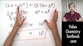 Scientific Notation and Significant Figures (1.7)