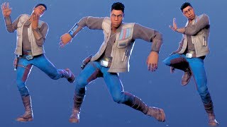 FINN STAR WARS Skin with All Dances & Emotes FORTNITE