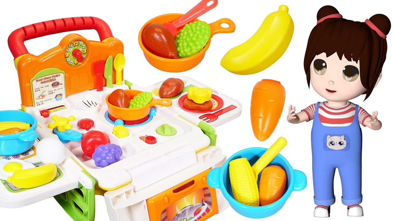 樂樂拆箱:偉易達的厨房煮飯玩具