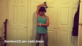 MI RUTINA EN CASA (biceps,triceps y esplada)