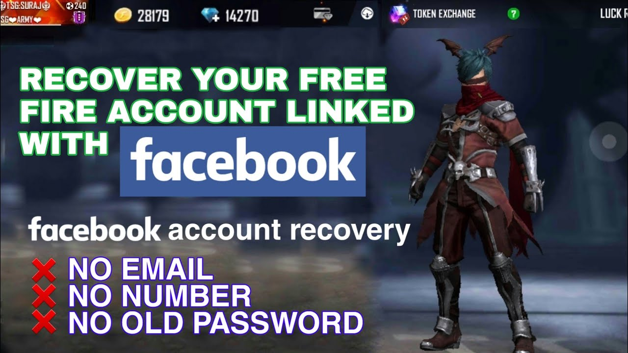 How To Recover Free Fire Account Linked With Facebook Recover Facebook Account Youtube