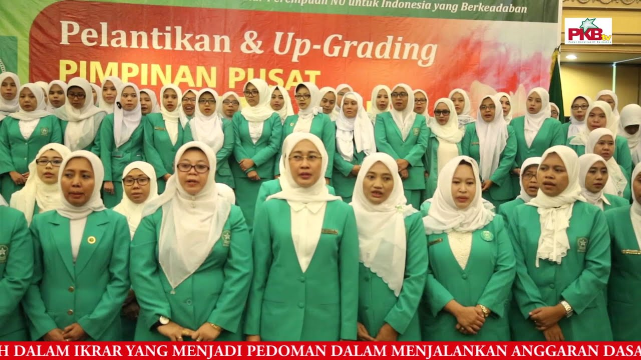 Pp Fatayat Nu 2015 2020 Resmi Dilantik
