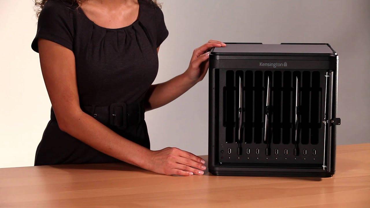 Kensington Charge & Sync Cabinet for iPad® 4th gen, 3rd gen, iPad ...