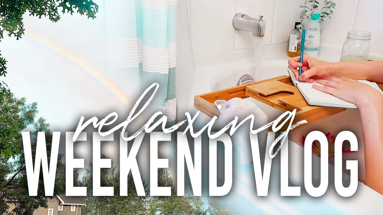 Relaxing Weekend Vlog // living my best mermaid life