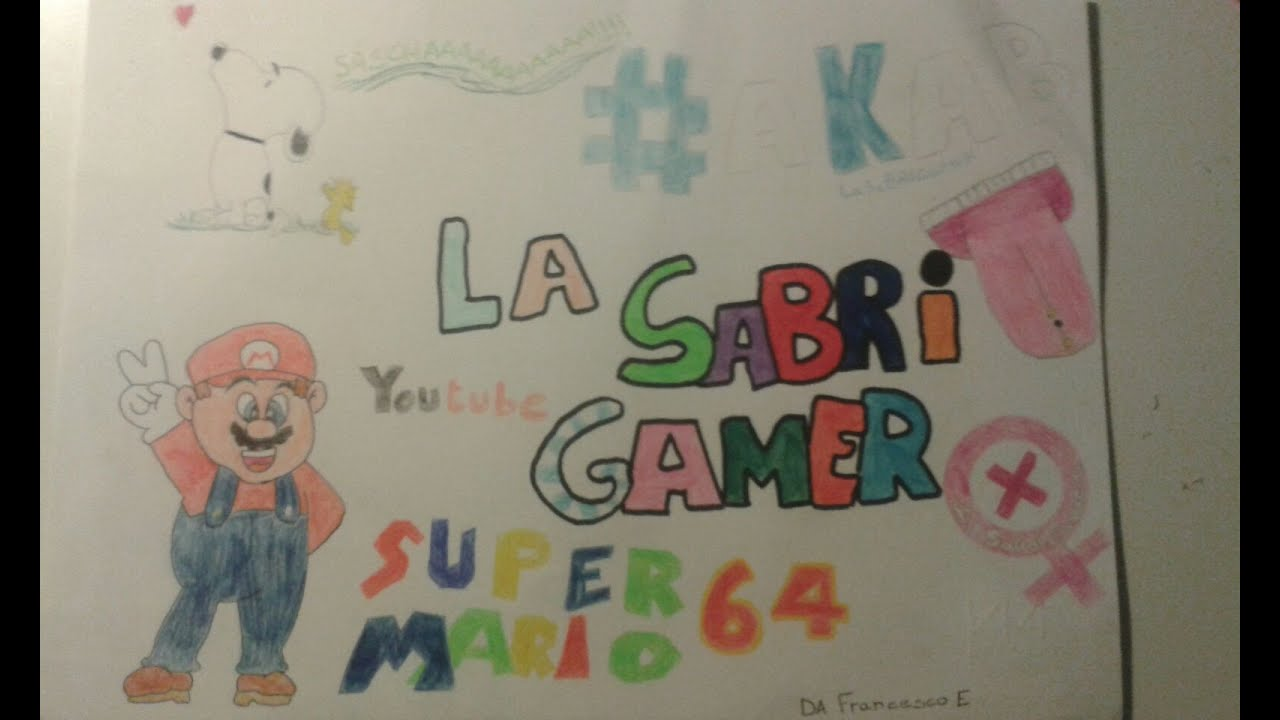 Fan Art Per La Sabrigamer Vlog 2 Youtube