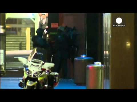 Caught on camera: Moment police storm Sydney cafe, guns & grenades