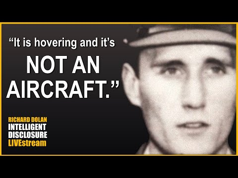 """""""It's Hovering and it's NOT AN AIRCRAFT."""" Richard Dolan Intelligent Disclosure"""