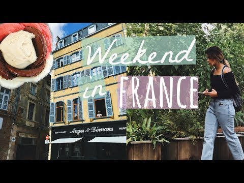 Weekend in FRANCE // Exploring Toulouse + VEGAN FOOD | ItsMandarin