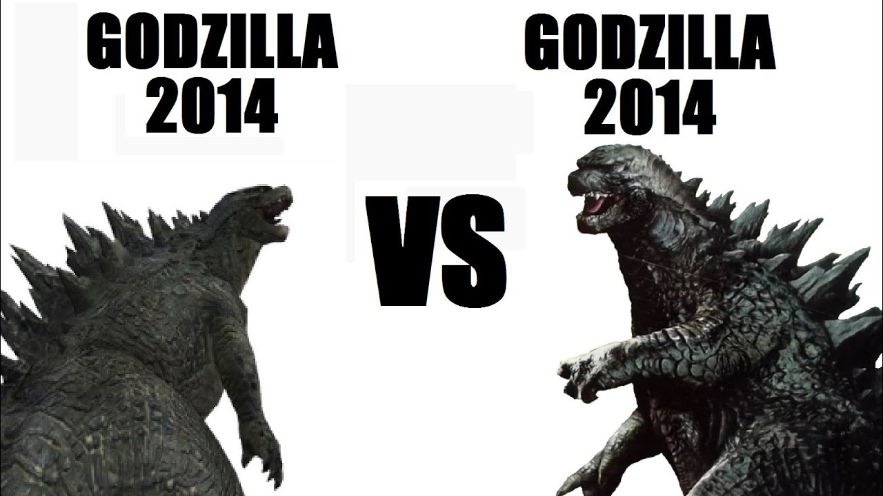 GODZILLA 2014 VS GODZILLA 2014 (toy battle) - YouTube