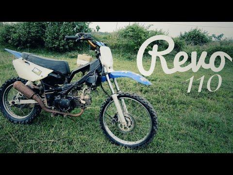 Modifikasi Honda Revo Trail Kabut Salju Grasstrack/Adventure