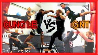 CUNG LE & GNT Martial Arts Training Sampler | MMA & TAEKWONDO | Flips & Kicks