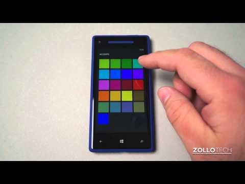 Windows Phone 8 Tips - The Home Screen